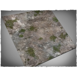 3ft x 3ft, Medieval Ruins Theme Guild Ball PVC Game Mat