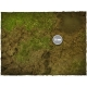 4ft x 4ft, Muddy Fields Theme Cloth Game Mat