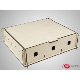 e-Raptor Universal Box Medium - wooden