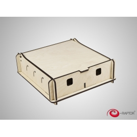 e-Raptor Universal Box Small - wooden