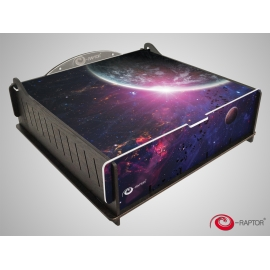 e-Raptor Trading Card Storage Deluxe Box - Outer Space