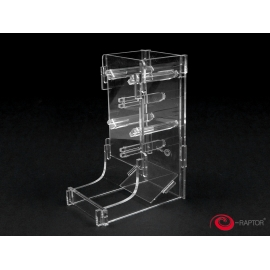 e-Raptor Dice Tower Cuboid Transparent