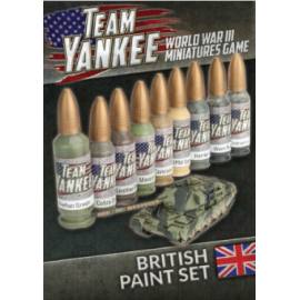 Team Yankee British Paint Set