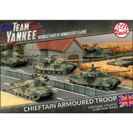 Chieftan Armoured Troop (x5)