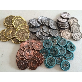 Scythe: Metal Coins Accessories