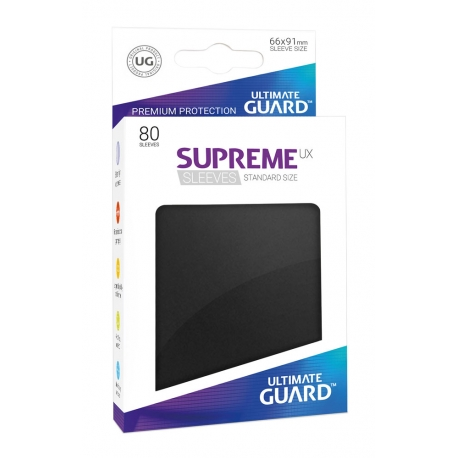 Supreme UX Sleeves Standard Size Black (80)