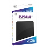 80x Supreme UX Sleeves Standard Size - Black