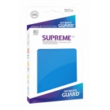 80x Supreme UX Sleeves Standard Size - Royal Blue