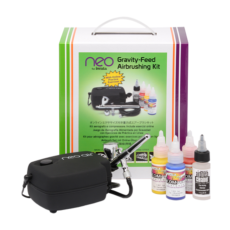 Neo Air Compressor with NEO Gravity Airbrush