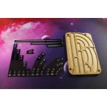 Space Fighter Manoeuvre Tray - Black