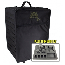 P.A.C.K. 1520 XL Molle Full Pluck Foam Load Out (Black)