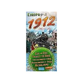 Ticket to Ride Europe 1912 Exp.