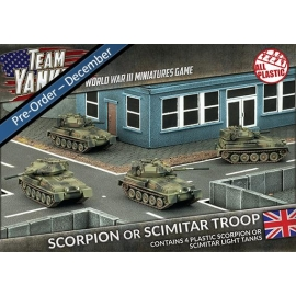 Scorpion or Scimitar Troop (x4)