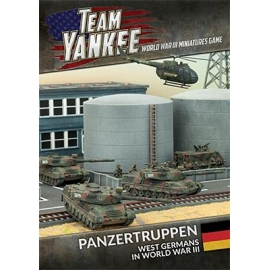 Panzertruppen West German Brief + cards