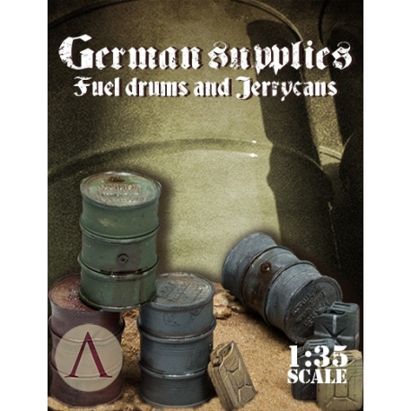 German Supplies - Fuel Drums And Jerrycans