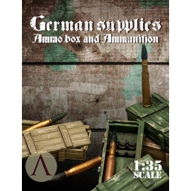 German Supplies – Ammo Box And Ammunition