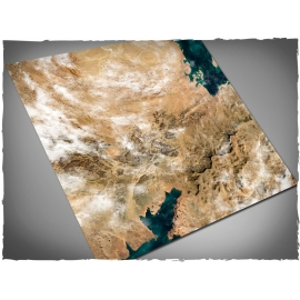 4ft x 4ft, Orbital Dunes Theme Mousepad Game Mat