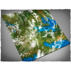 4ft x 4ft, Orbital Earth Theme Cloth Game Mat