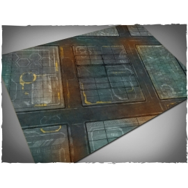 4ft x 6ft, Neo-Tokyo Theme Cloth Game Mat