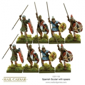 Spanish Scutari with Spears