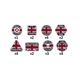 Team Yankee British Token Set (x22)