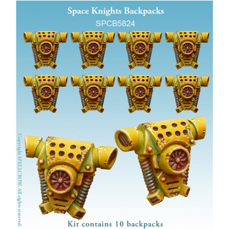 Space Knights Backpacks