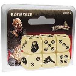 Bone Dice: Zombicide Black Plague