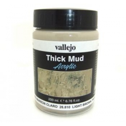 Weathering Effects - Light Brown Thick Mud