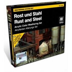 Model Color Set - Rust and Steel Effects