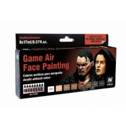 Game Air Set - Face Painting (Male & Female)