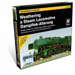 Train Color - Steam Engine Weathering Set