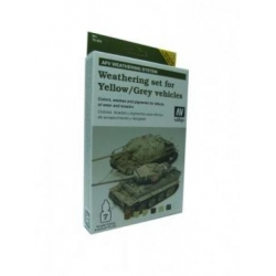 Armour Set - AFV Weathering For Yellow & Grey Vehicles