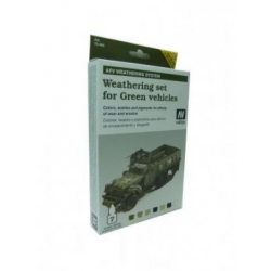 Armour Set - AFV Weathering For Green Vehicles