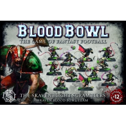The Skavenblight Scramblers Skaven Blood Bowl Team