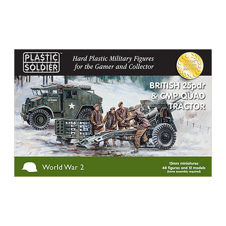 British 25pdr and CMP Quad Tractor