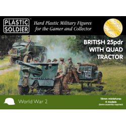 British 25pdr and Morris Quad Tractor