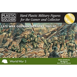 15mm Late War German Infantry 1943-45