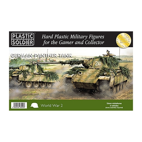15mm Easy Assembly German Panther Tank