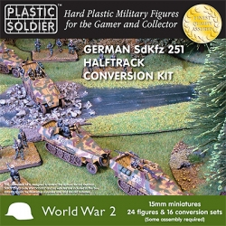 15mm Easy Assembly German Sdkfz 251/D Conversion kit