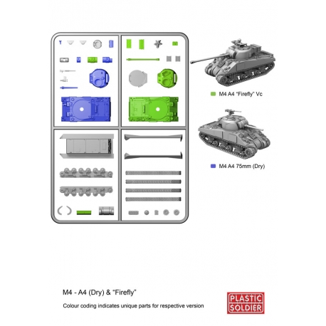 15mm Sherman M4A4/Firefly