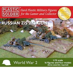 1/72nd Russian Zis 2 and 3 anti tank/field gun