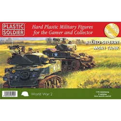1/72nd Easy Assembly Stuart M5 Tank