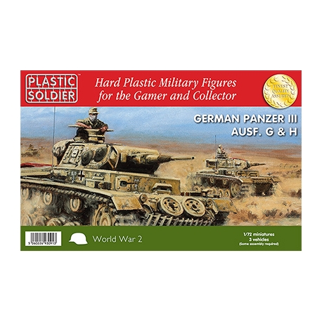 1/72nd Panzer III G,H