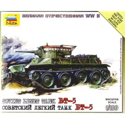 1/100th (15mm) Russian BT5 tank