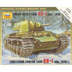1/100th (15mm) Russian KV1 Tank with F-32 Gun 1941