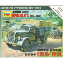 1/100th (15mm) German Opel Blitz truck