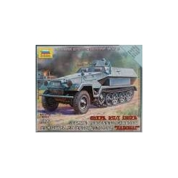 1/100th (15mm) German SdKfz 251 Ausf B Halftrack