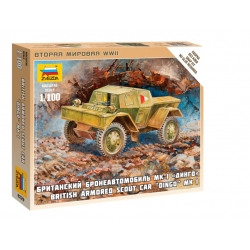 1/100th Dingo Armoured Car