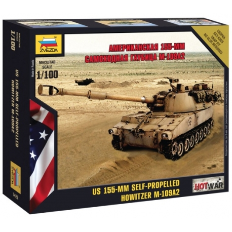 1/100th US M109A2 155mm Self Prop Howitzer