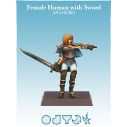 Female Human with Sword